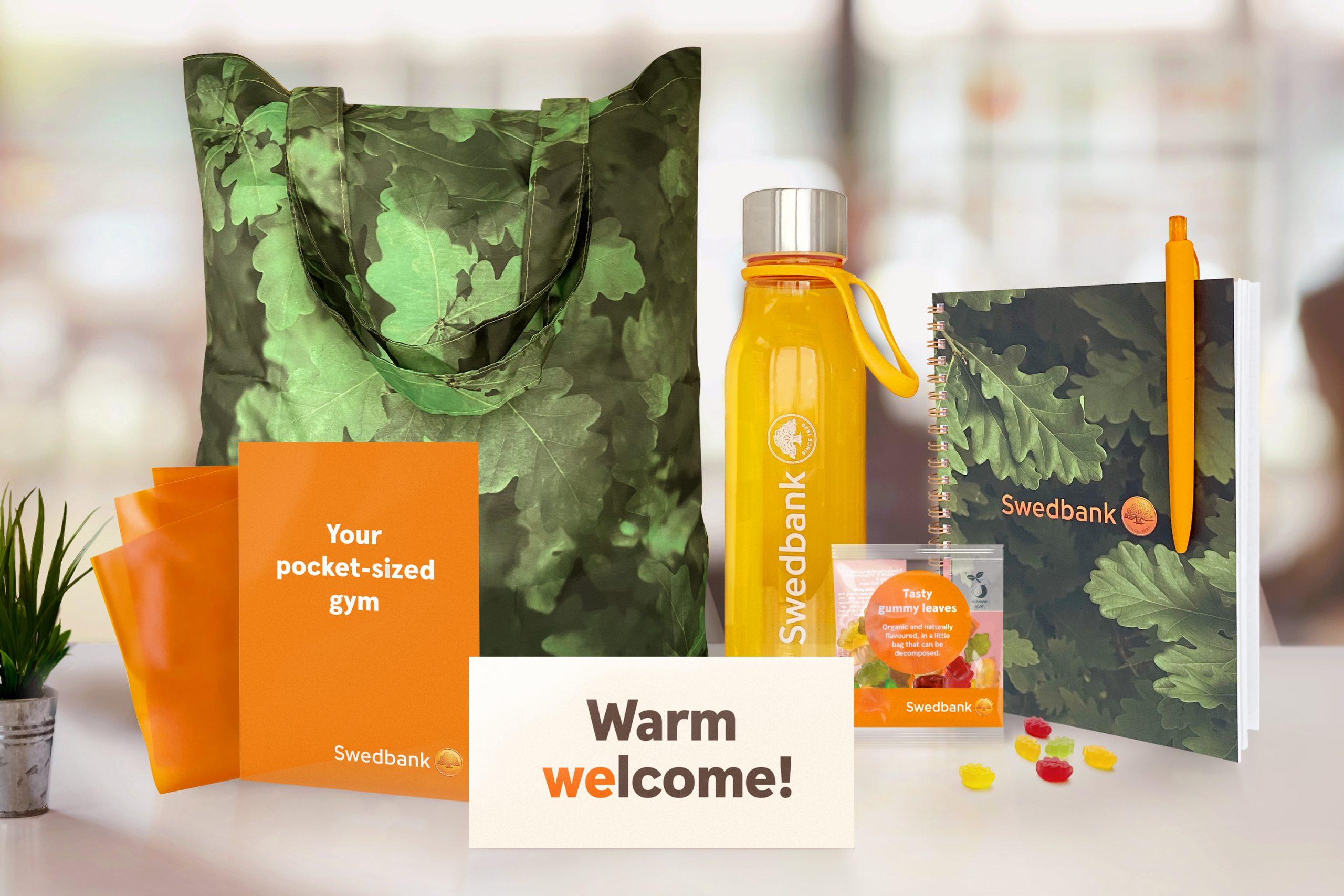 Swedbank welcome kit