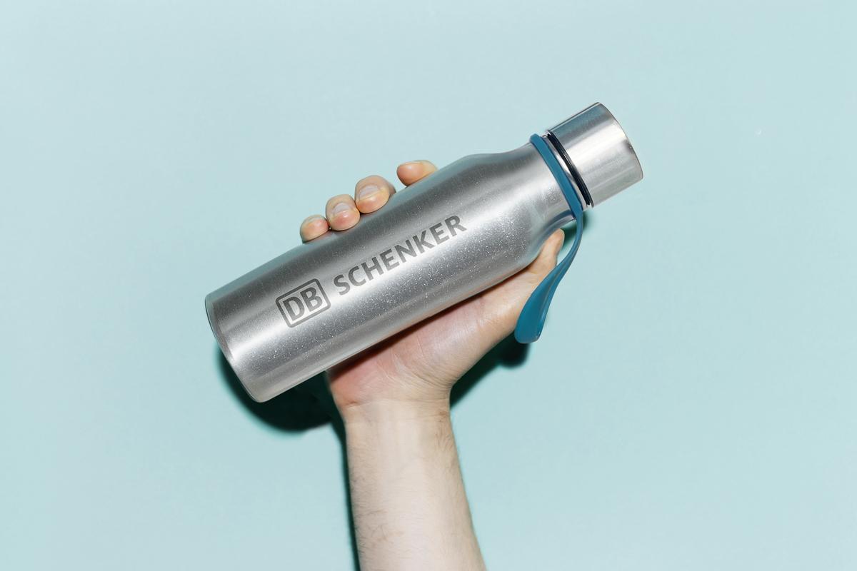 DB schenker bottle aluminium